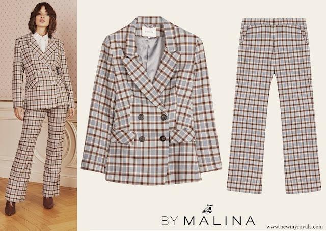 Crown Princess Victoria wore Karah blazer and Rosetta pants from By Malina