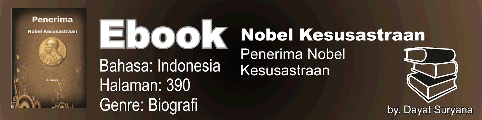 Buku Nobel Kesusastraan
