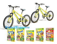 Logo Cereali Nesquik Cheerios : vinci 500 Mountain Bike Atala