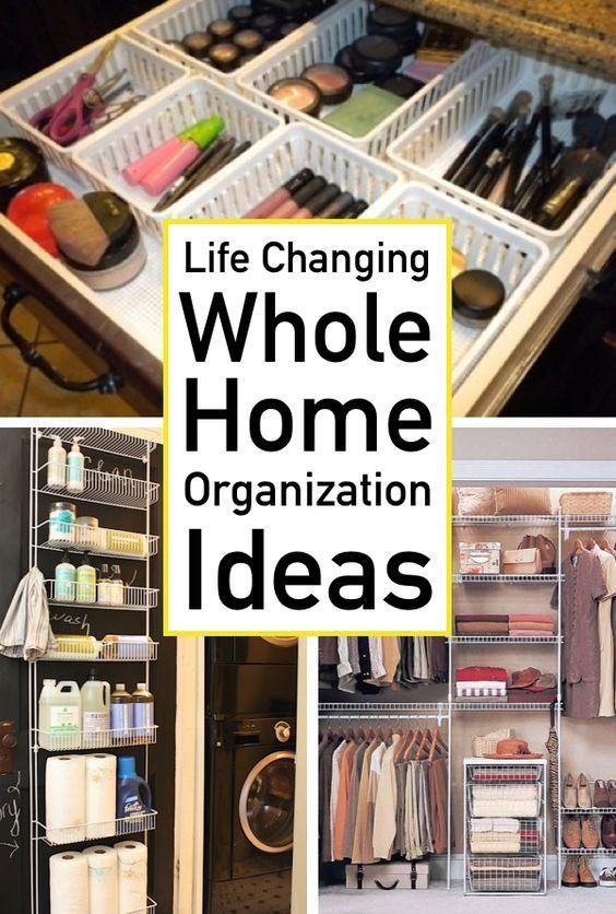 home organization declutter ideas