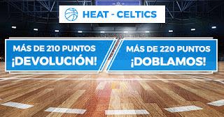 Paston promocion Miami Heat vs Boston Celtics 29 enero 2020