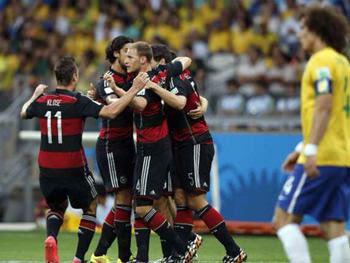 2014FIFAワールドカップ 準決勝 ブラジル対ドイツ