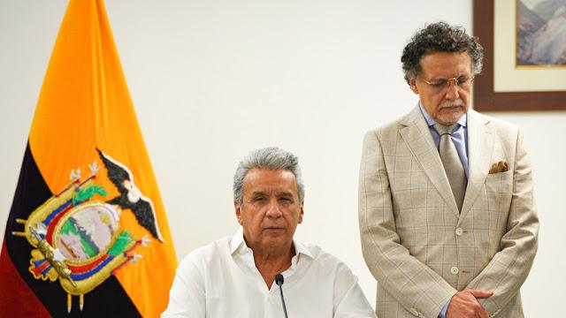 Presidente Moreno llama a dirigentes indígenas de Ecuador a dialogar directamente con él