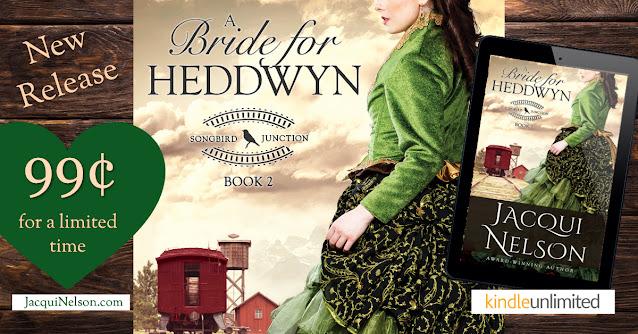 My new book release A Bride for Heddwyn