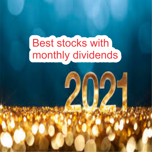 Best stocks with monthly dividends