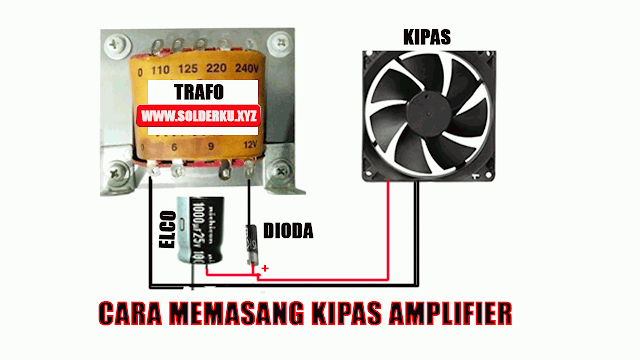 Cara Memasang Kipas Angin Amplifier