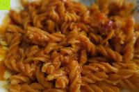 Nudeln mit Sauce: Linsennudeln BIO (1x250g) aus 100% Linsenmehl 250g mit 23% Protein vegan und glutenfrei von Five-Mills.de für Muskelwachstum und Muskelerhalt - Eiweißnudeln geeignet als Fleischersatz und Supplementersatz low fat