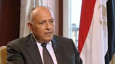 وزير الخارجية: أديس أبابا تّسعى لعرقلة الاتفاق النهائي لسد النهضة