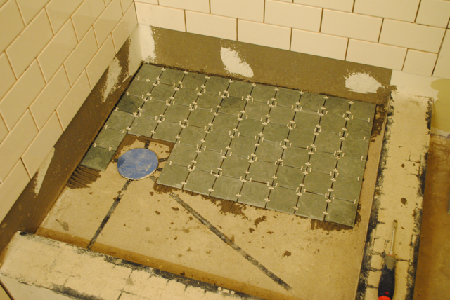 Bathroom Tile Floor Or Wall First Wikizie