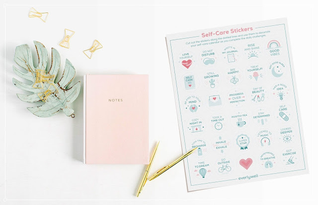 30-Day Self-Care Challenge + Free Printables