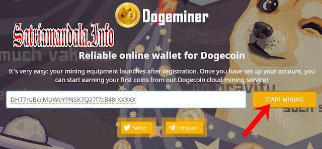 Tempat Mining DogeCoin Gratis