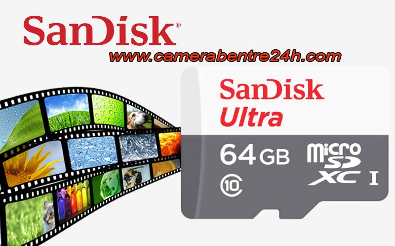 thẻ nhớ sandisk chuyên camera 64GB