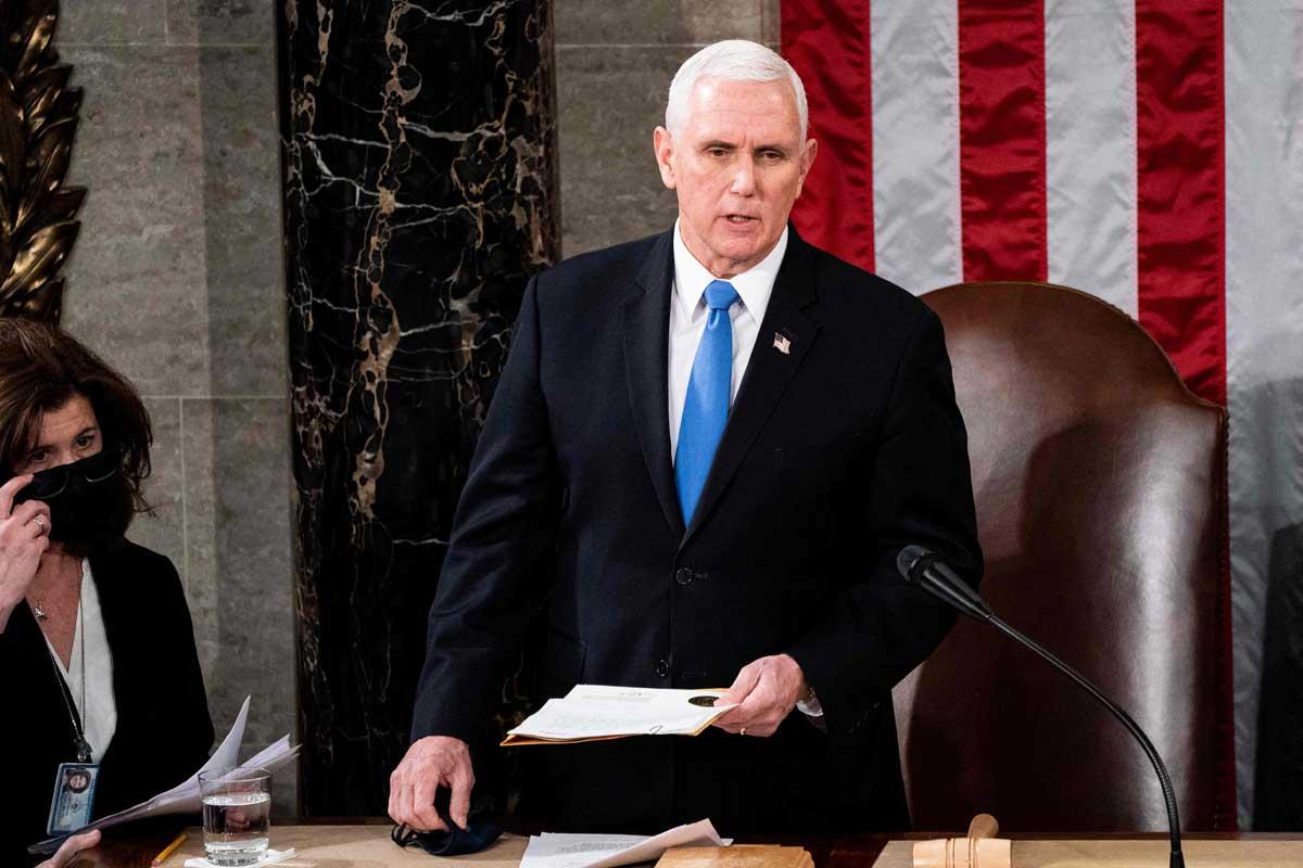 """Congreso certifica a Biden. Trump acepta fin de su mandato y promete  """"transición ordenada"""""""