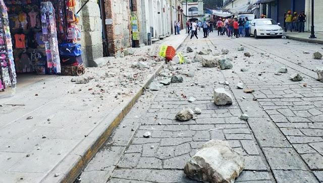 Sismo de magnitud 7.5 sacude México y provoca daños en la capital