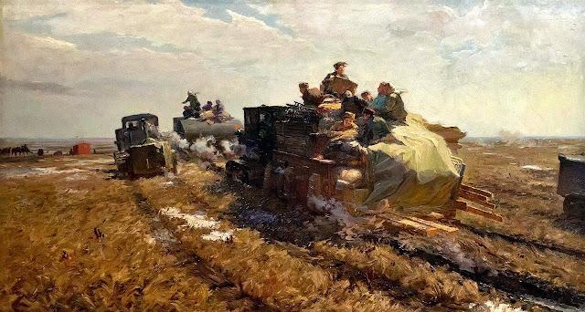 «Весна Казахстана», Попов В. А., 1957 г.