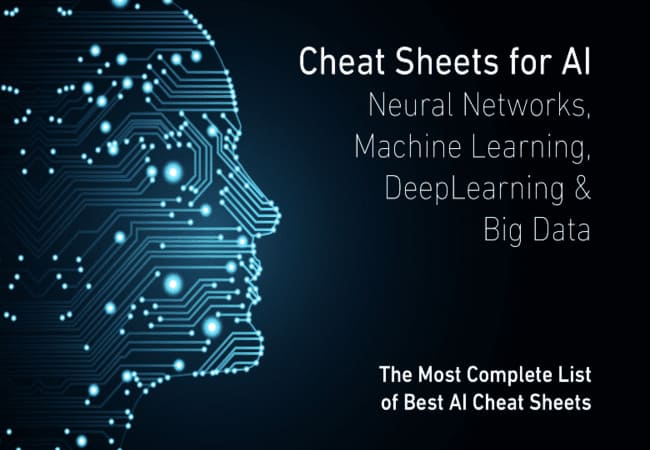 Cheat Codes For Big Data, AI, ML, Neural Networks, Data Science, And Deep Learning