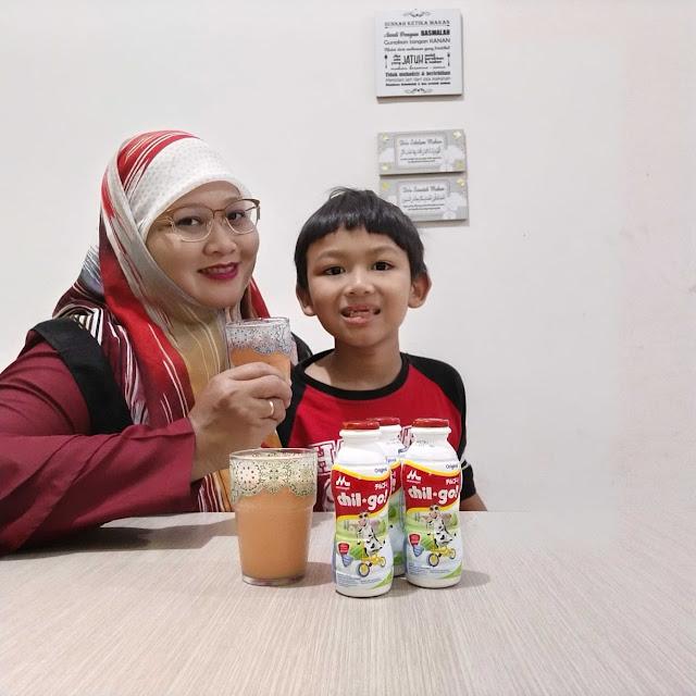 Milkshake Apel Wortel Morinaga