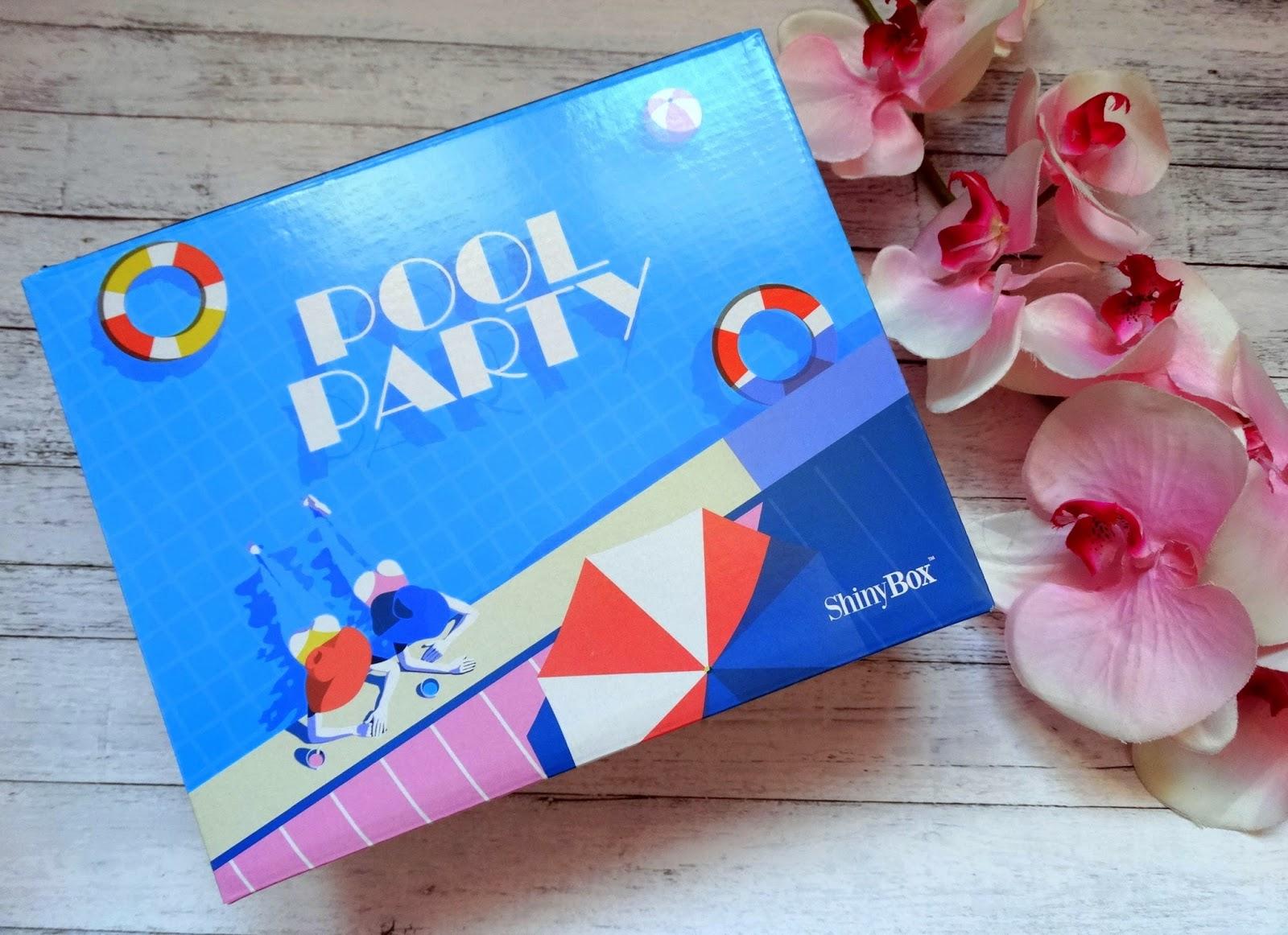 ShinyBox 'Pool party' lipiec 2017 + wyniki konkursu
