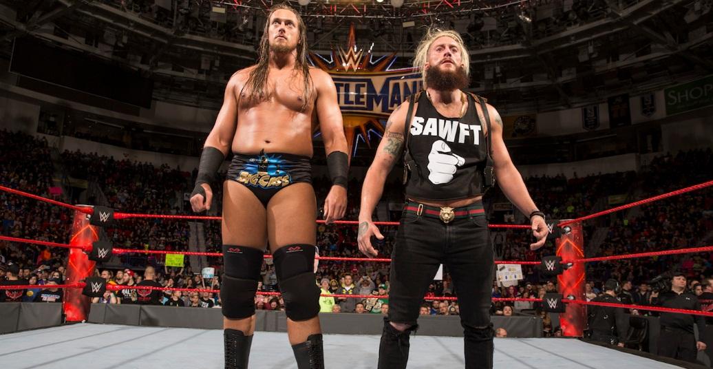 Big Cass Great NXT largest wrestler