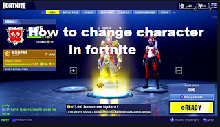How to change gender of your character in Fortnite