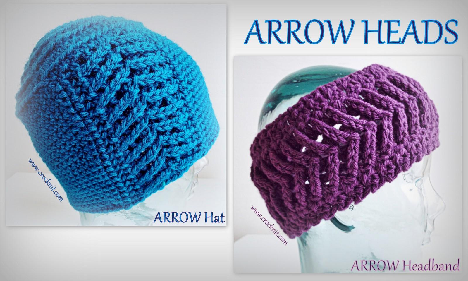 MICROCKNIT CREATIONS: ARROW Heads Crochet Patterns