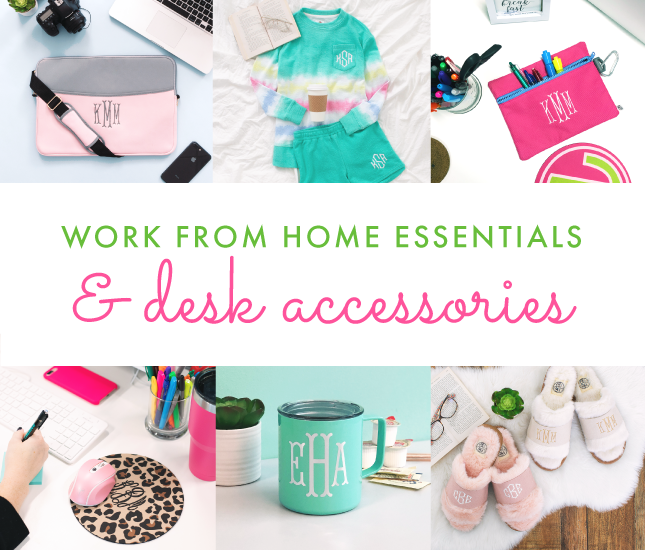 Work from Home Essentials & Desk Accesories from Marleylilly