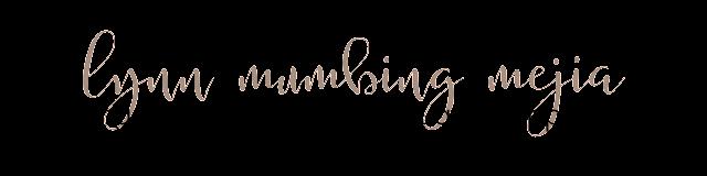 Lynn Mumbing Mejia blog logo