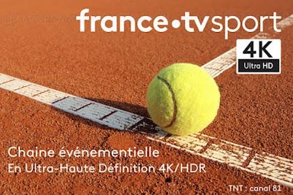 France TV Sport 4K UHD - Eutelsat (5°W) Frequency