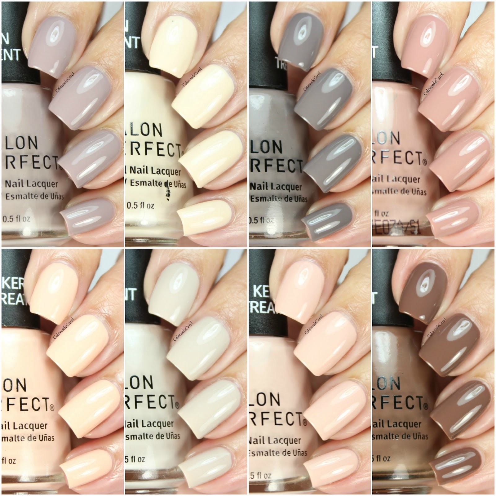 Colores de Carol: Salon Perfect Get Naked with Naked Nutrients