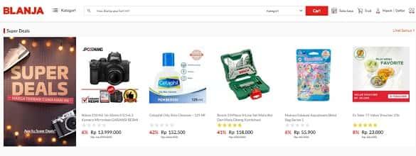 toko online yang terbaik dan terpercaya paling lengkap