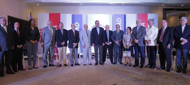 """Abinader asegura en acto de apoyo: Justo y enérgico"""", será el Gobierno del Cambio, apegado a principio del Padre de la Patria"""