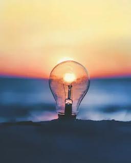 lampu ide bokeh
