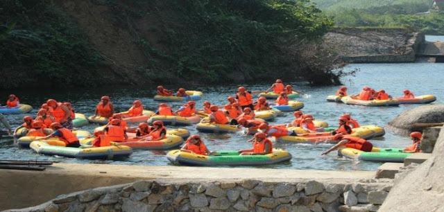 Thác trượt Hòa Phú Thành - Đà Nẵng xua đi cái nắng mùa hè 3
