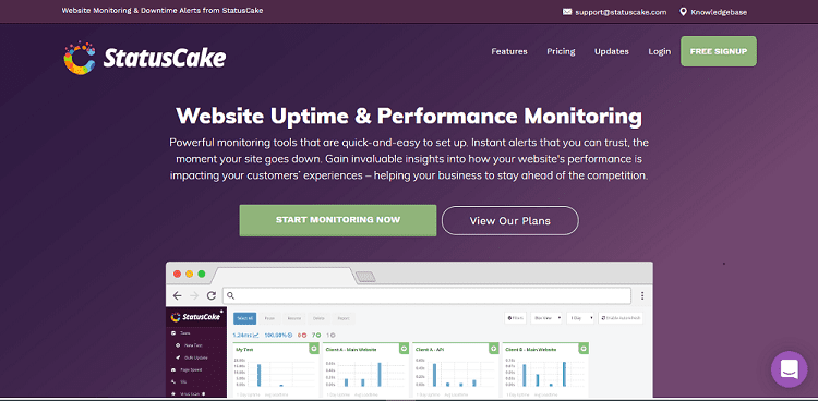uptime downtime website