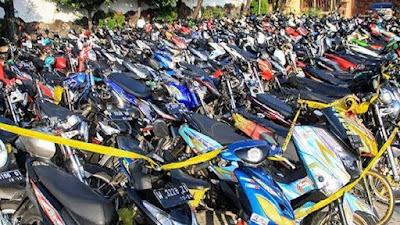 Razia Balap Liar di Bone, Puluhan Motor Diamankan Selama Ramadan