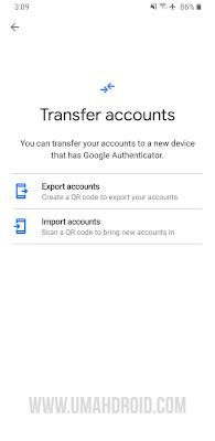 Cara Transfer Akun Google Authenticator