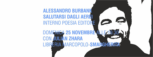 Alessandro Burbank alla MarcoPolo - domenica 25 Novembre