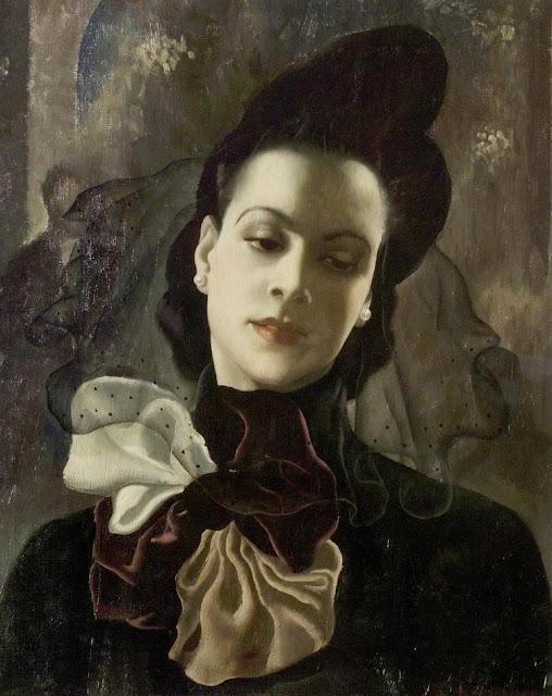 1938. Anna Katrina Zinkeisen - The Dark Lady