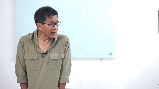 Ungkapan Prihatin Sudjiwo Tedjo Soal Pelarangan Rocky Gerung-Ratna Sarumpet