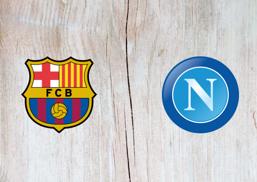 Barcelona vs Napoli Full Match & Highlights 8 August 2019