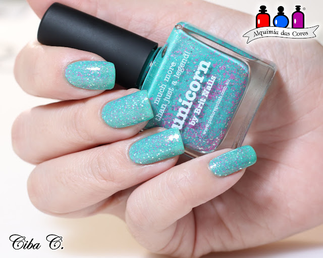 Unicorn, Picture Polish, Cebella, Born Pretty, BP-54