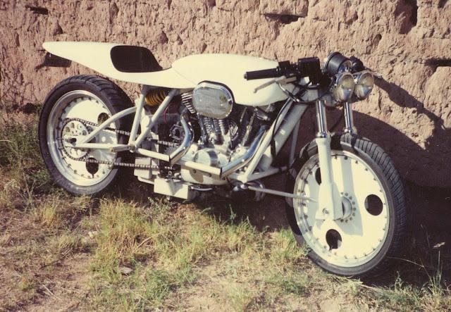 Robert Horn Harley Davidson Sportster 883 FFE