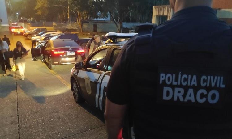 Polícia Civil participa da operação contra a sonegação fiscal