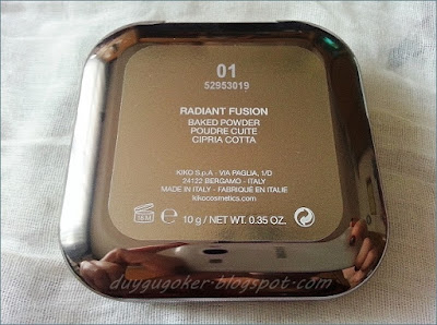 KİKO Radiant Fushion Baked Powder