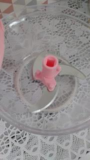 Lâmina processador rosa