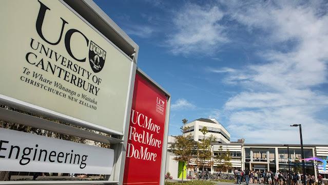 فرصة جديدة !!! منحة جامعة كانتربري 2020  ممولة بالكامل لدراسة البكالوريوس والماجستير والدكتوراه في كل التخصصات في نيوزيلندا