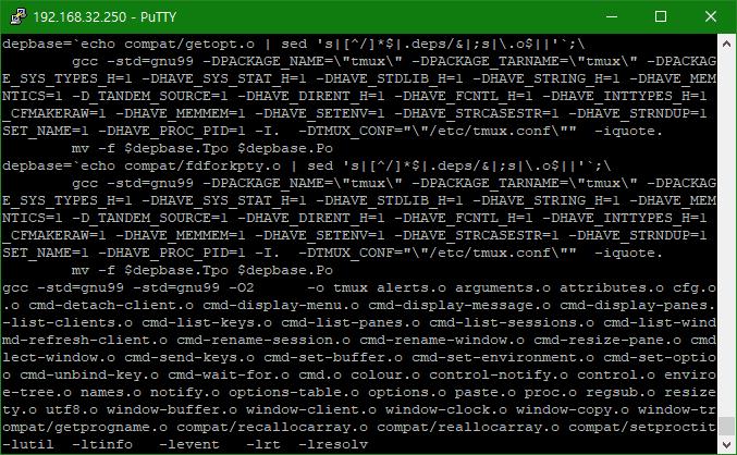 [LINUX] CentOS 6에서 Tmux 소스 컴파일 설치하기