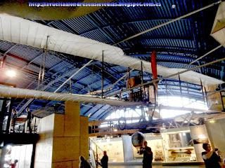 Sección dedicada a la aeronáutica, en el Science Museum