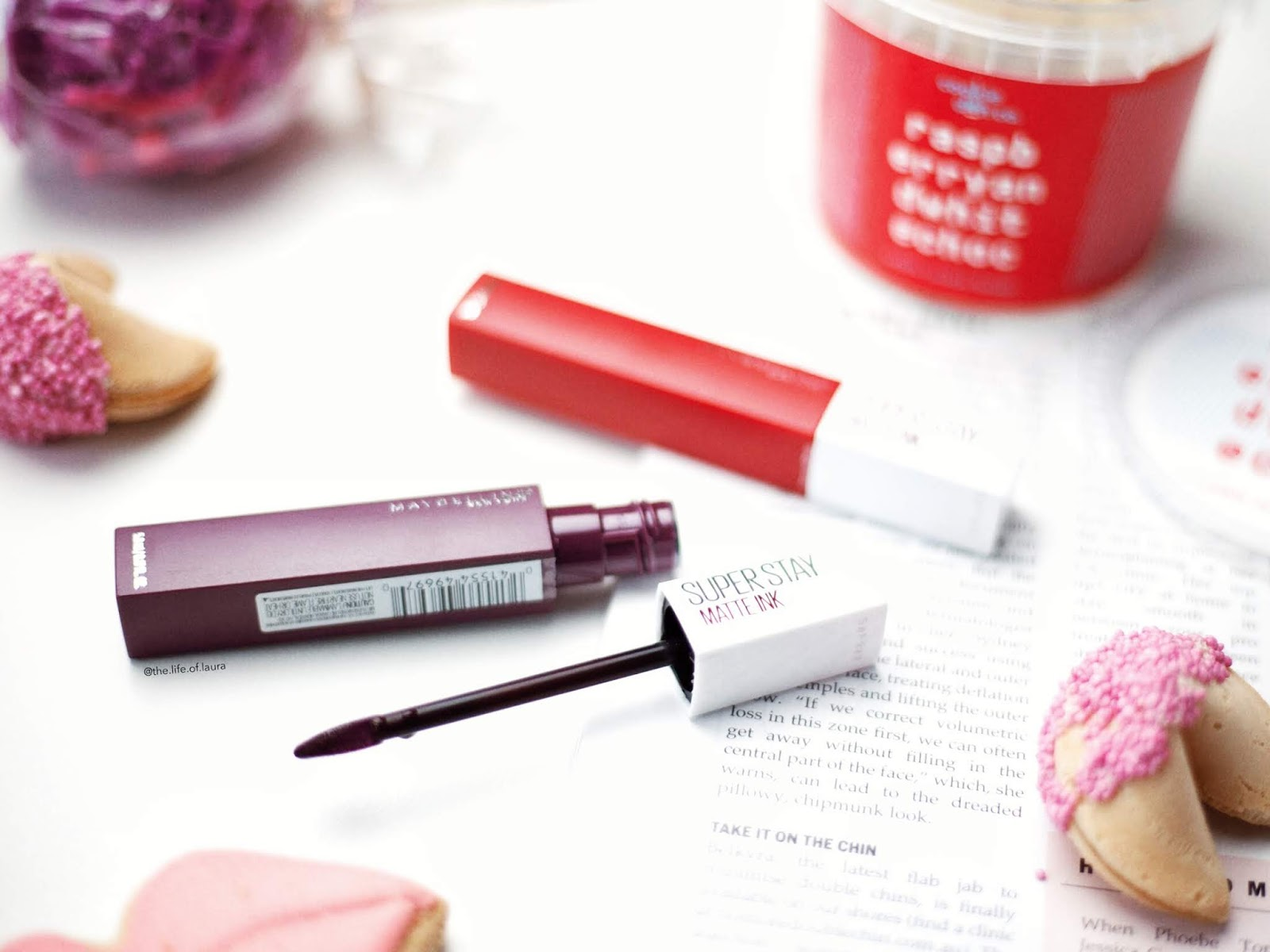 The Life Of Laura Maybelline Super Stay Matte Ink