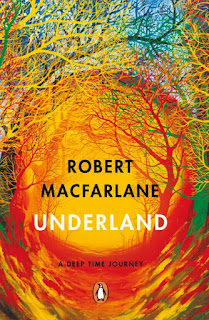 Underland by Robert Macfarlane book cover